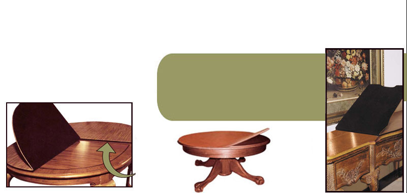 Table Pads Kitchen Table Pads Coffee Table Pads Custom Table - Brown table pad