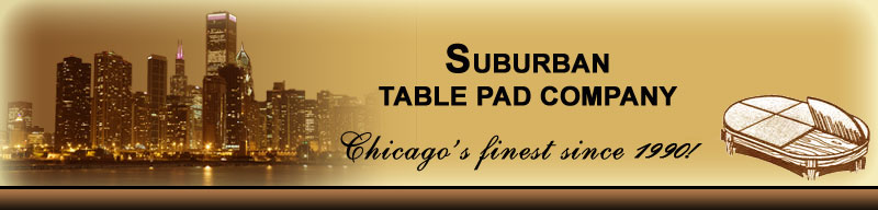 Header. ©Suburban Table Pad Company